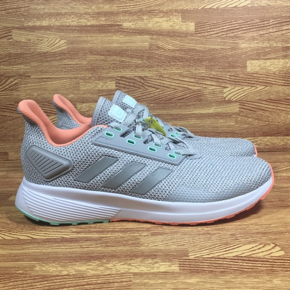 super popular 5726a d70b3 Adidas Duramo 9 Running Shoes cloudfoam Grey Pink